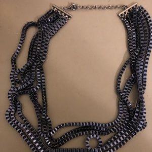 Jewelry - Dark blue chain necklace